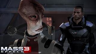Mordin und Sheperd in Mass Effect 3