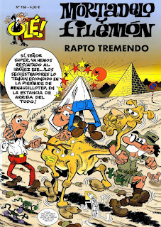 Rapto Tremendo - Mortadelo y Filemón
