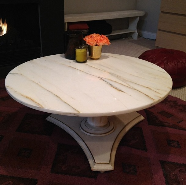 Marble Top Coffee Table Craigslist: Daily Dose Of Kevin: Basement: Before And After