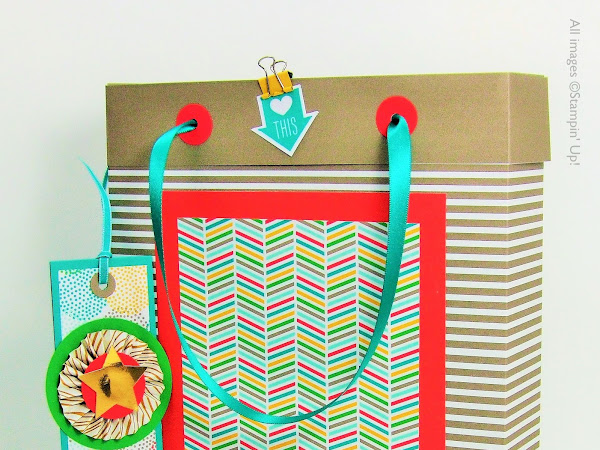 7 Days of Teacher Treats for End of Year Gifts - #5 Gift Bag + Tag