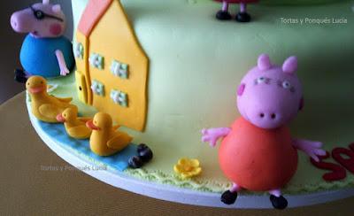 Tortas y ponques lucia torta peppa pig modelo 2 - Peppa pig la casa del arbol ...