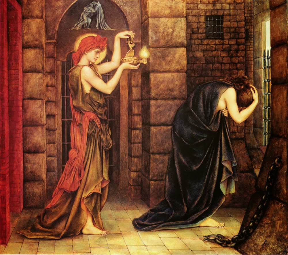 travels persephone goddesses in the dust elpis the spirit  hope in the prison of despair evelyn de morgan 1887