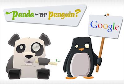 Apa Itu Google Panda dan Google Penguin Serta Cara Kerjanya ?