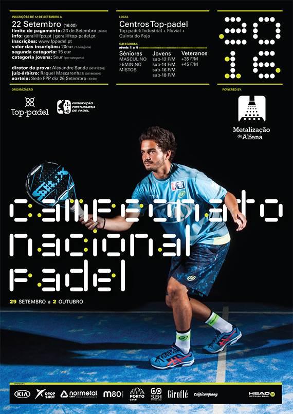 Sporting no Campeonato Nacional de Padel.