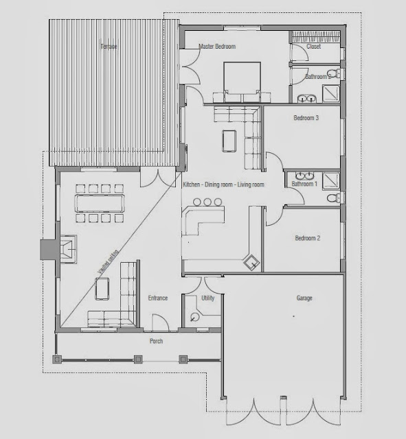 Affordable Home Plans Affordable Classical Home Plan Ch144