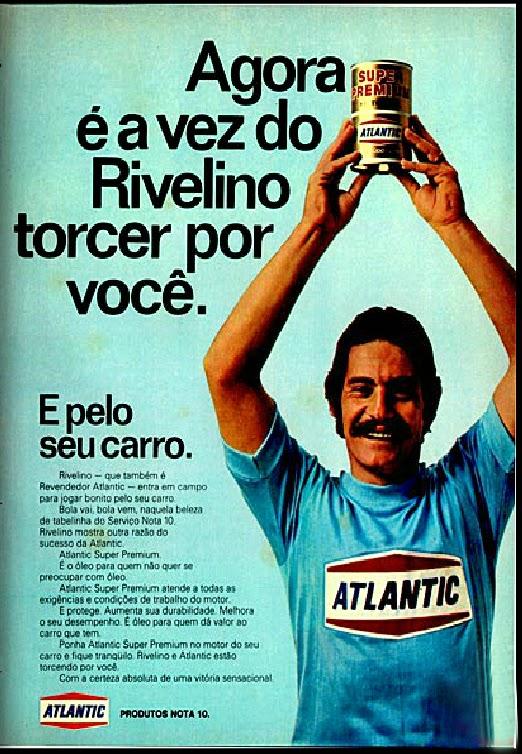 Atlantic.  brazilian advertising cars in the 70. os anos 70. história da década de 70; Brazil in the 70s; propaganda carros anos 70; Oswaldo Hernandez;