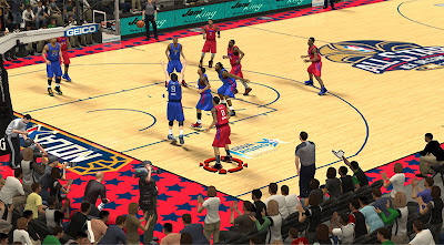NBA 2K13 2014 All-Star Game Court Mod