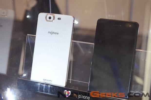 Myphone Agua Infinity: 5-inch Octa-core Processor