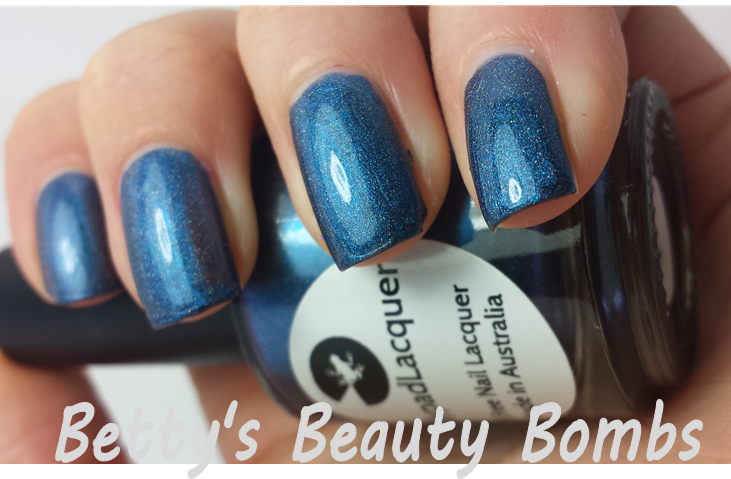 Lilypad Lacquer Steeling Blue Swatch
