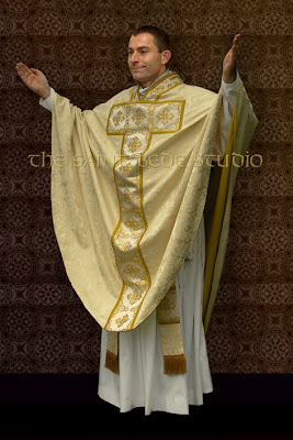 Saint Martin chasuble