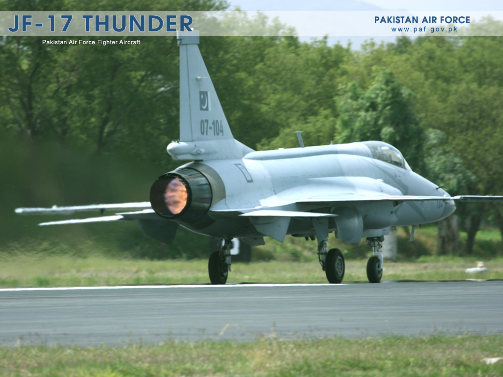 Pakistan Air Force JF-17 Thunder Aircraft Landing Wallpaper