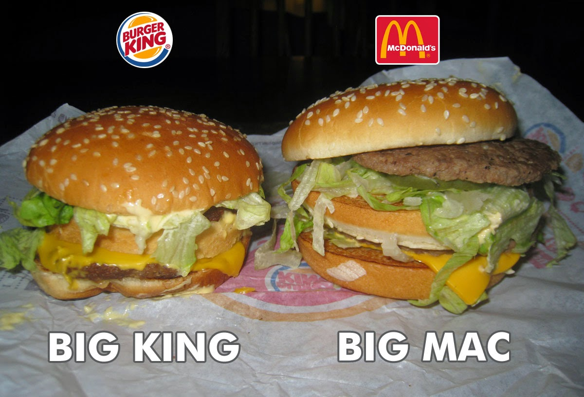 mcdonalds vs burger king which is Burger king vs mcdonald's burger king and mcdonald's are two of the most popular fast food restaurants and have been in competition for years.