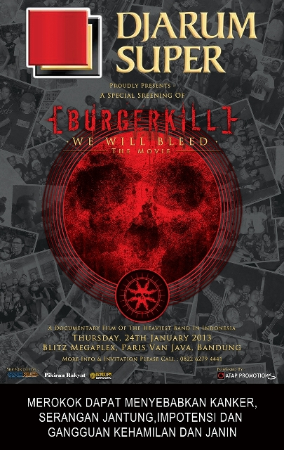 "BURGERKILL ""WE WILL BLEED"" THE MOVIE"