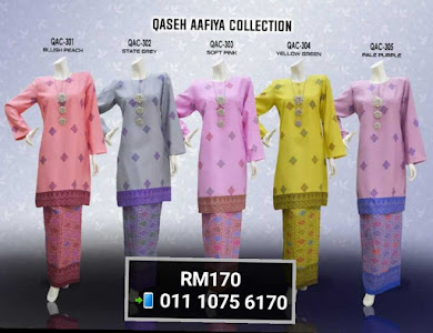 BAJU KURUNG QASEH AAFIYA COLLECTION