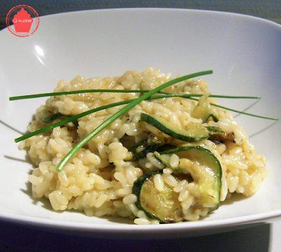 risotto courgettes tout simple