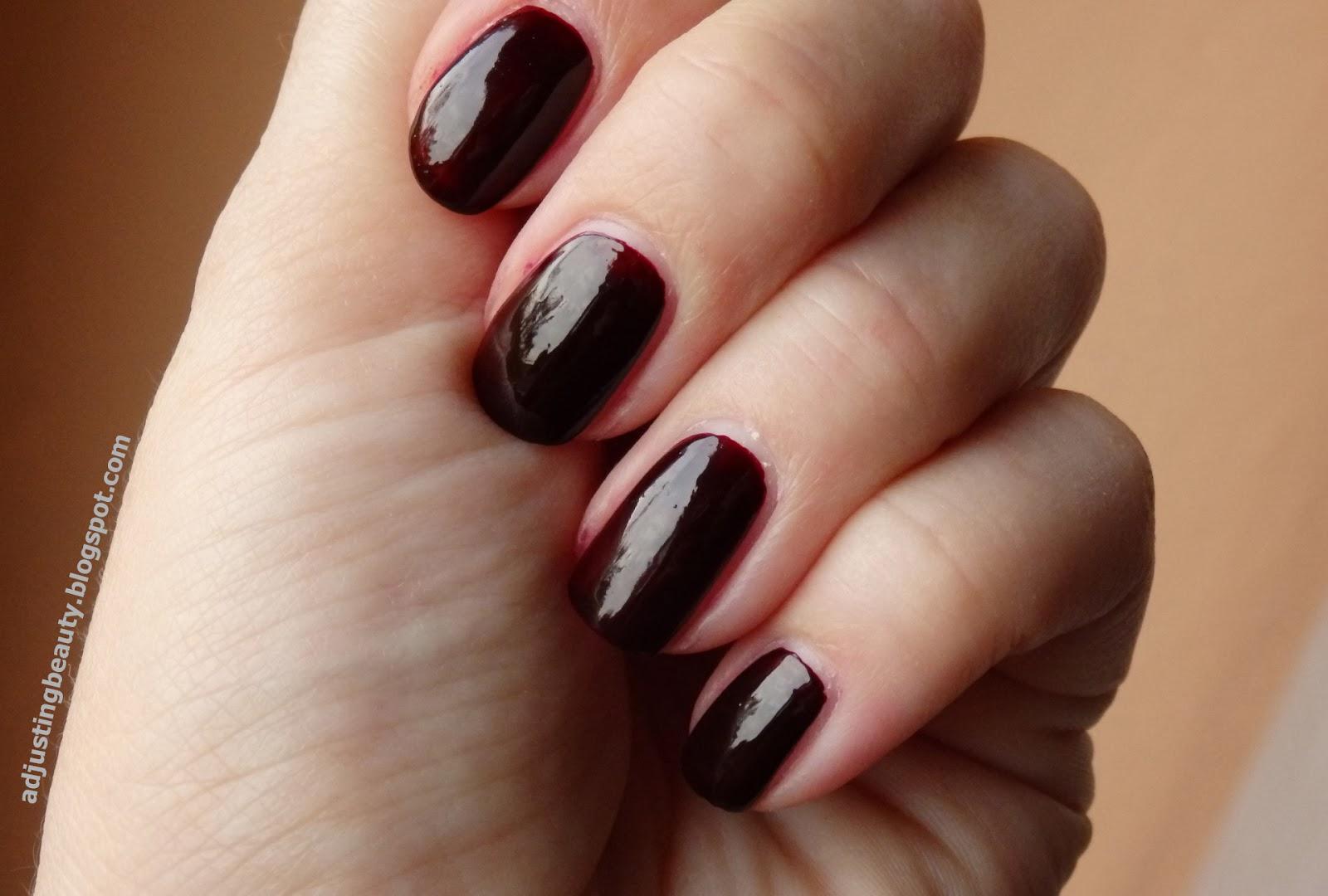 Fantastic Almost Black Red Nail Polish Images - Nail Art Ideas ...