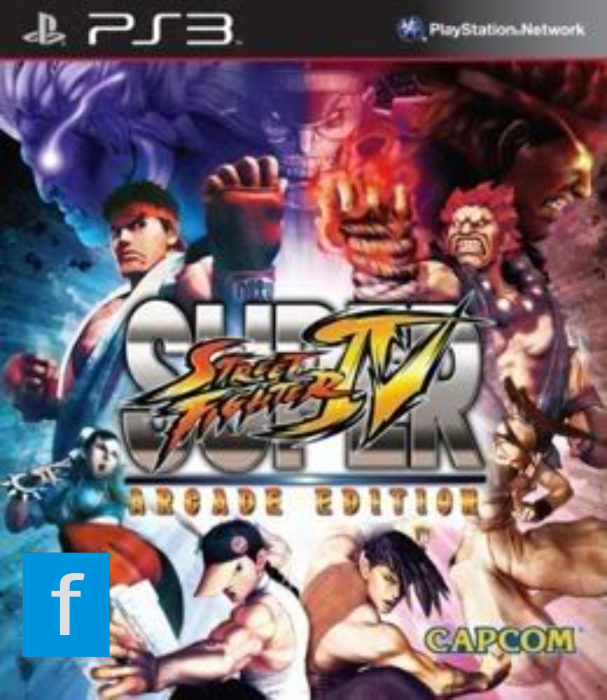 Super Street Fighter IV - Arcade Edition PS3
