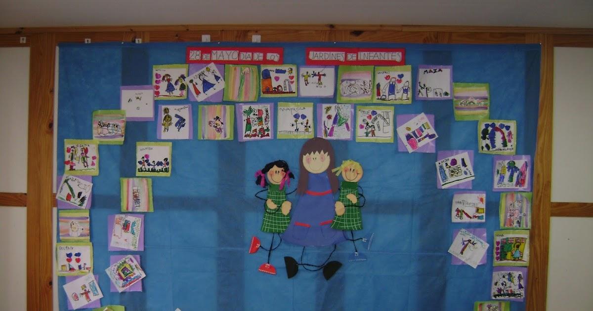 Decoraci n en el jard n de infantes d a de los jardines y for Decoracion jardin infantes