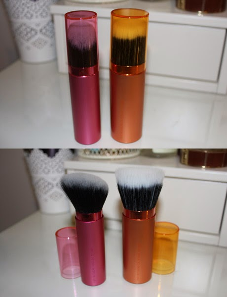 RealTechniques, Retractable Bronzer brush, retractable kabuki brush,