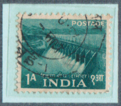 1A INDIA, India Postage Stamps with watermarks