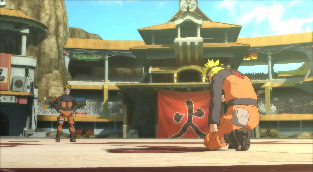 Naruto verses Mecha Storm Ninja World Tournament