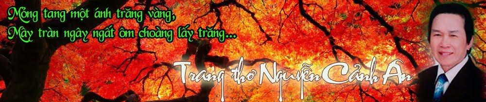 Trang thơ Nguyễn Cảnh Ân