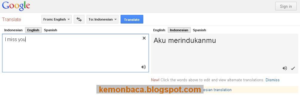 situs terjemahan indonesia
