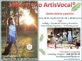Sesión abierta y gratuita - Laboratorio ArtisVocal®