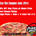 Pizza Hut Coupon June 2014