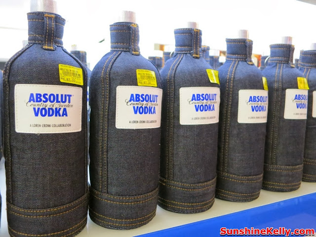 absolut, World First ABSOLUT Brand Store, absolut vodka, KLIA, absolut hibiskus, absolut collection, Loren Cronk Collaboration