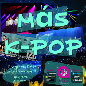 Más K-Pop - Sab. 9:00am