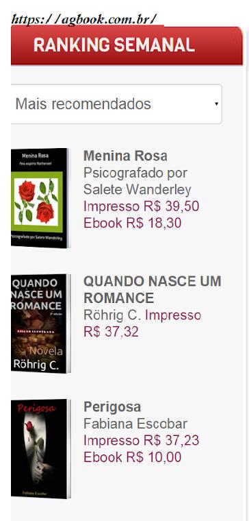 Livro -  menina Rosa
