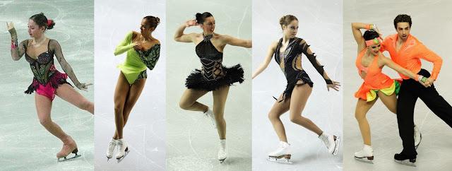 patinaje artistico ice skating euro 2012 trajes