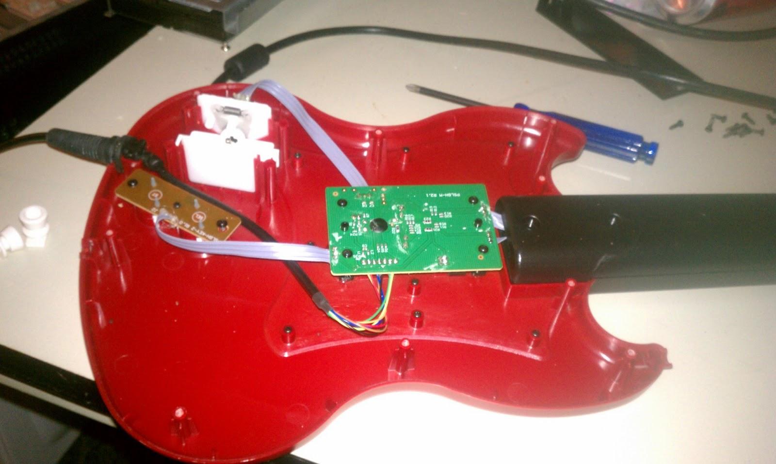 Guitar Freaks Arcade metal guitar holder brackets