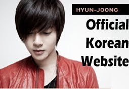 Kim Hyun Joong Korean official website