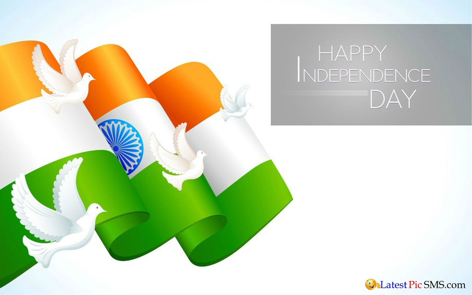 Happy Independence Day Images with Birds for Facebook