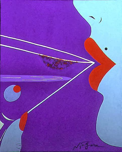 Niagara Detroit. Pin-up Noir. Pintura | Paintings