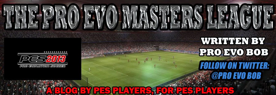 THE PRO EVO MASTERS LEAGUE