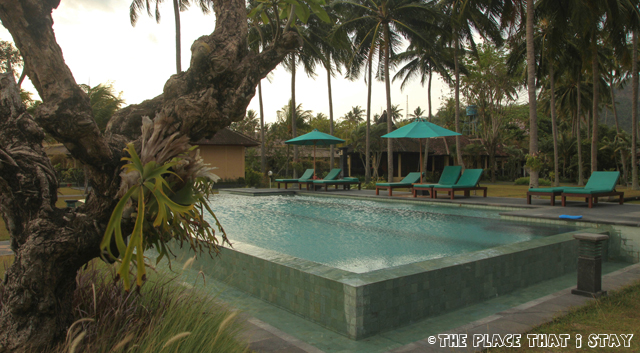 Mascot Beach Hotel (Senggigi, Lombok) - The Swimming Pool