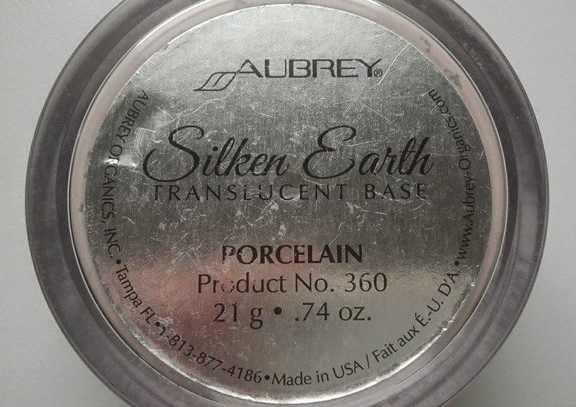 Aubrey silken earth back of the box