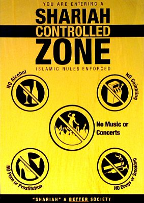 Shariah Controlled Zone Poster