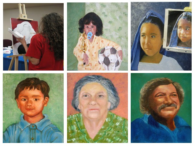 Portrait Painting Workshop/Taller de Retrato