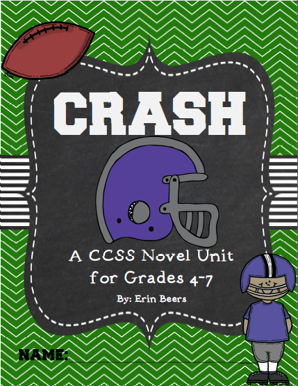 http://www.teacherspayteachers.com/Product/Crash-by-Jerry-Spinelli-CCSS-Novel-Unit-UPDATED-2014-865886