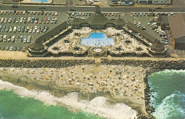 Aerial View Of Tradewinds Beach Club In An Old Postcard That My Grandmother Sent Me Circa 1985 I Think The Ocean Was Colorized To Look More Turquoise