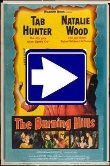 THE BURNING HILLS (1956)