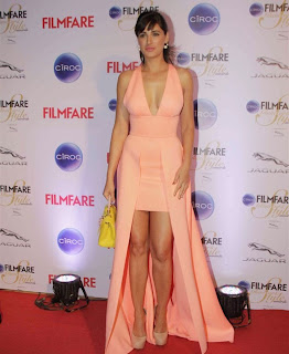 nargis fakhri spicy stills at filmfare glamour and style awards 2.JPG