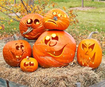 Pumpkin Decorations on Beingmaja  Halloween Pumpkin Ideas