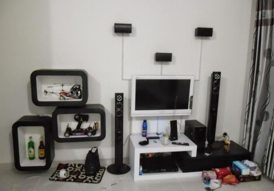 Rak Tv & Sekat Minimalis - Furniture Semarang 01