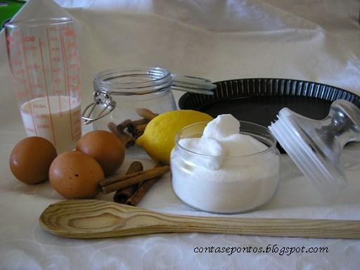 Tarte de pastel de nata - receita