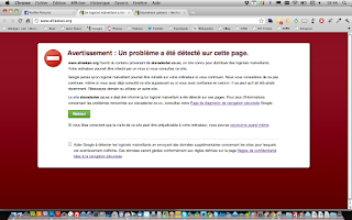 Comment supprimer le message «Ce site web qui contient des logiciels malveillants», A Unix Mind In A Windows World